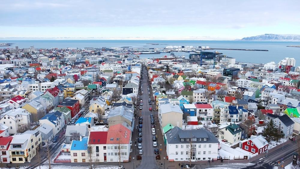 Reykjavic is scenic seaside city to walk around