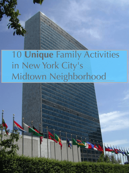 The u. N. Is one of 10 top attractions and hiddent gems that you can visit with kids in nyc's midtown east. #nyc #uppereastside #midtown #sightseeing #bucketlist #topattractions #kids #family #vacation #weekend