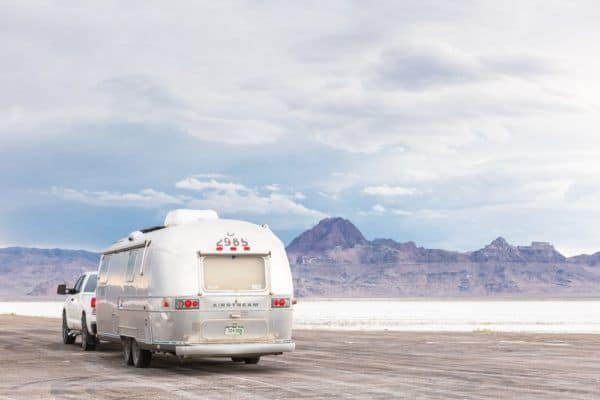 Renting an airstream can make traveling with kids less stressful