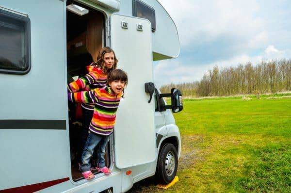 Rvs let you visit out of the way places with your kids