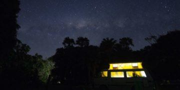 Sleeping under the stars is one reason to try rv travel with your family
