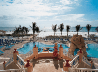 Pink shell beach resort has great adult and family pools