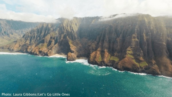 Helicopter is an ok way to see hawaii if you're pregnant