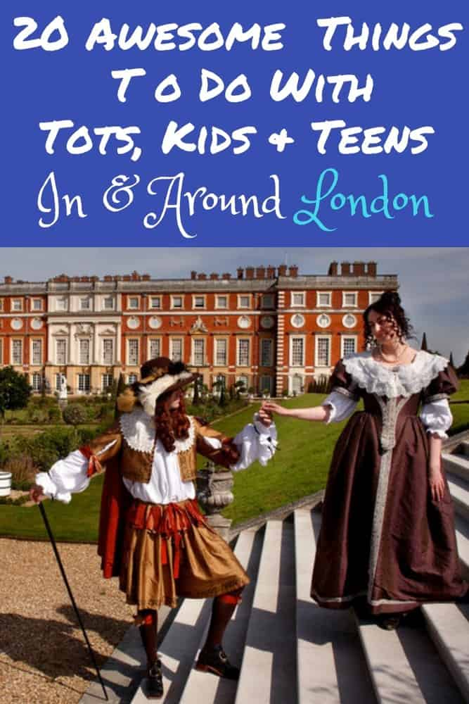 London is full of great activities for families with any age kids. Here are 20 things to see and do, including 5 palaces and 2 harry potter activities. #london #kids #thingstodo #vacation #harrypotter #palaces #royals