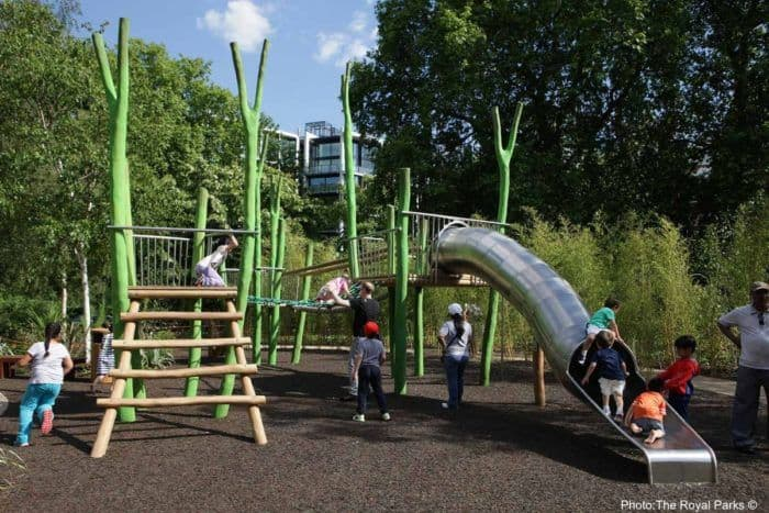 Playground in hyde park