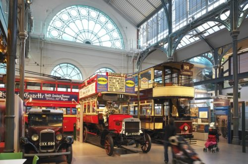 See historic double deckers at the london transport museum