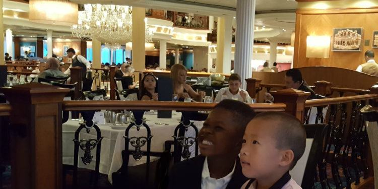Royal caribbean has lots of kid-friendly dining options