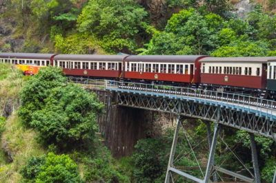 The scenic and historic kundara train