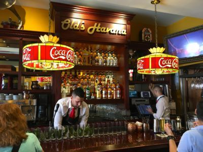 Old's havana is a great restaurant on calle ocho in miami