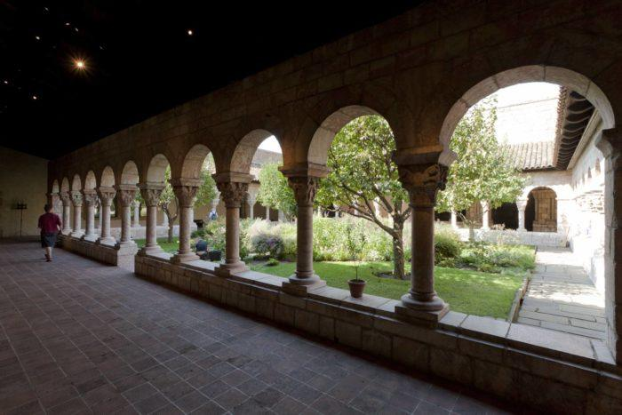 The garden at the Met Cloisters