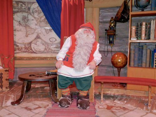 It's easy to believe Lapland's Santa is the real one.