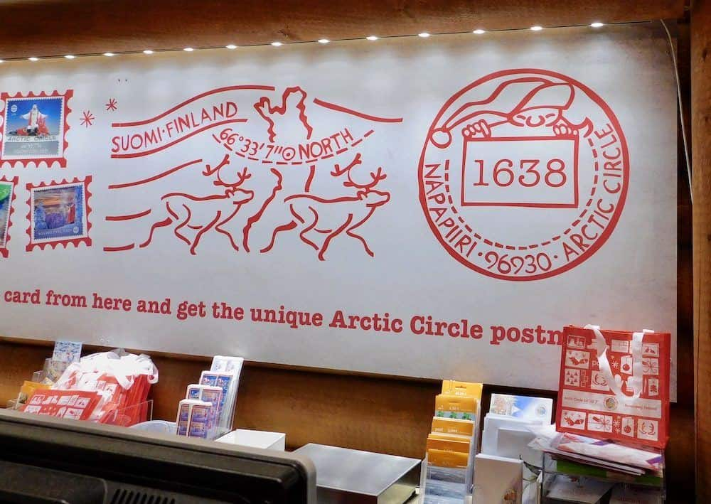 Santa's post office in lapland