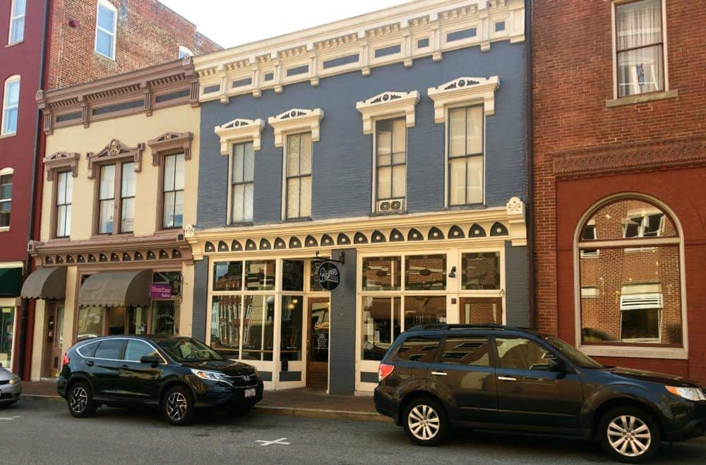 One of staunton va's charming and colorful streets
