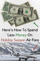 Can you find good deals on airfare at the busiest flying times of the year? Yes. Our experts tell you how. #airfare #christmas #thanksgiving #holidayseason #holidaytravel #budgettravel #moneysaving #tips
