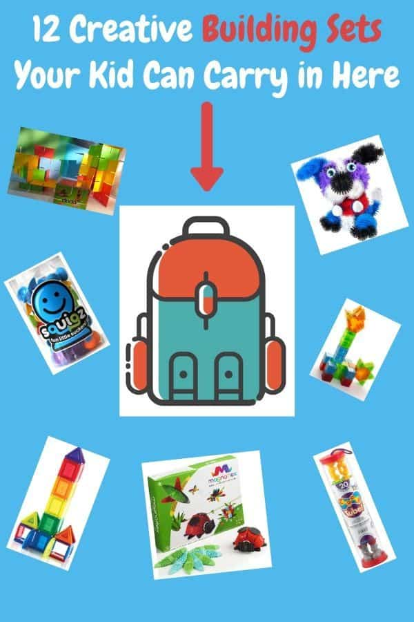Blocks are only the beginning of what kids can build with today. Here are tiles, tubes, cubes and puffs they can use to create all kinds of structures. And they travel! #building #blocks #STEM #Gifts #Ideas #magneticblocks #tiles