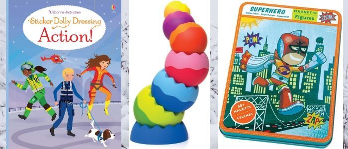 Toys your kids will love that they can take anywhere they go. For ages 1-10