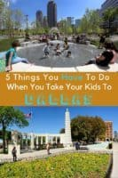 Tips for visiting dallas's most popular attractions with kids. Klyde warren park, the book depository museum and more. #dallas #texas #thingstodo #kids #vacation #weekend #getaway #jfk #kids