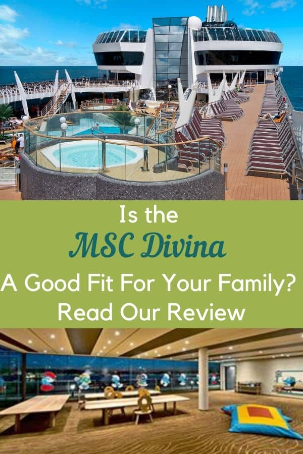 The msc divina has live operas, italian food, several pools and a good kids club. Is it a fit for your family? Read more to find out. #multi-generationtravel #cruise #vacation #cruiseline #review #msc #travelwithkids