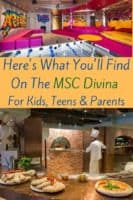Msc is a cruise company with a distinct european accent. Here's what we think american families will and won't like aboard its divina ship. #msc #cruise #cruisewithkids #review #vacationideas
