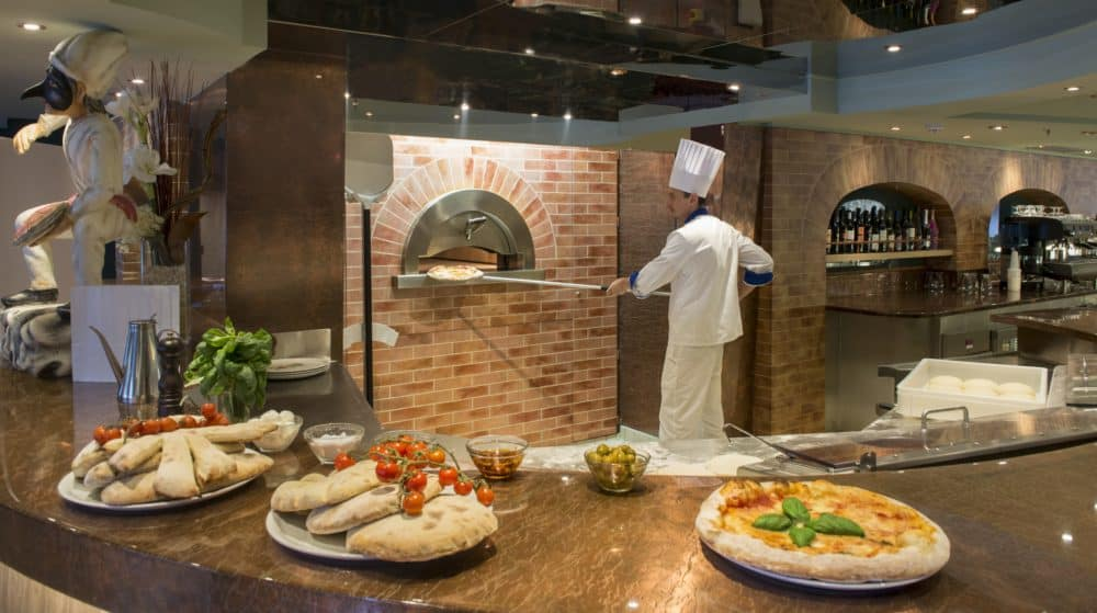 Msc's italian roots show in its onboard pizza ovens.