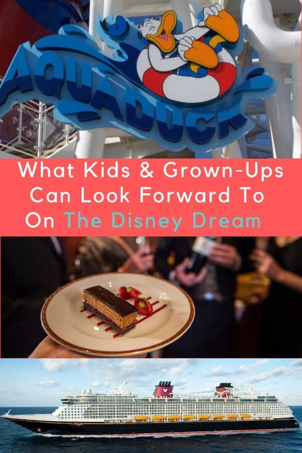 The disney dream combines the best elements of any cruise vacation and a disney park visit. Expect dining activities and service that will keep you and your kids very happy. #disney #cruise #vacation #disneydream #kids #adults #thingstodo #kidsclub #oceaneers #dining