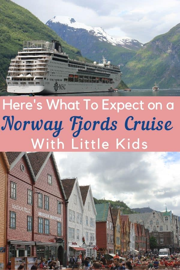 A cruise is the ideal way to tour the fjords north of norway and denmark, especially with kids. Here are tips for a northern european cruise with kids and preschoolers. #msc #nordiccruise #fjordscruise #norward #denmark #bergen #copenhagen #norwegianfjords #kids #thingstodo #portsofcall #shoreexcursion #tips #cruisewithkids