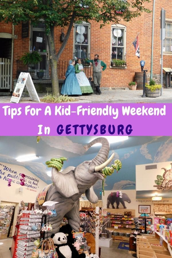 Find the kid-friendly side of gettysburg, pennsylvania: texas weiners, an elephant emplorium, small museums and the best of the national park site. #gettysburg #pennsylvania #kids #restaurants #museums #hotels #thingstodo #civilwar #nationalpark