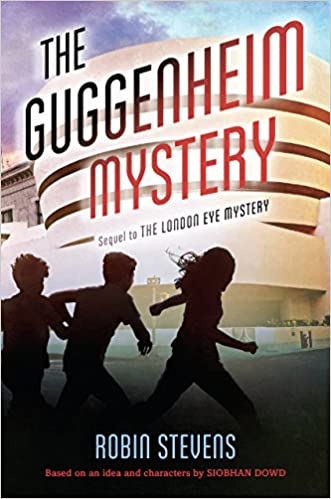 The guggenheim mystery has 3 cousins solving a mystery at tihis famous nyc museum.