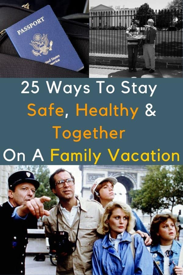 25 tips from safety experts and professional travelers for staying healthy, protecting your money and documents on vacation and buying the right travel insurance. #travel #health #safety #tips #kids #family #coronavirus #cdc #travelinsurance