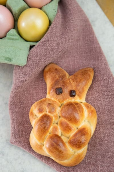 Easter zopf that you'll see in bakeries in switzerland are like rich, sweeter challah breads and come in animal shapes.