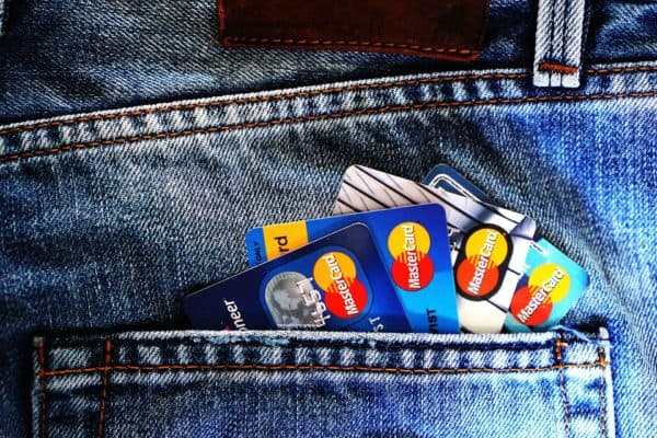 A pocket full of credit cards. Which is best for saving for a vacation?