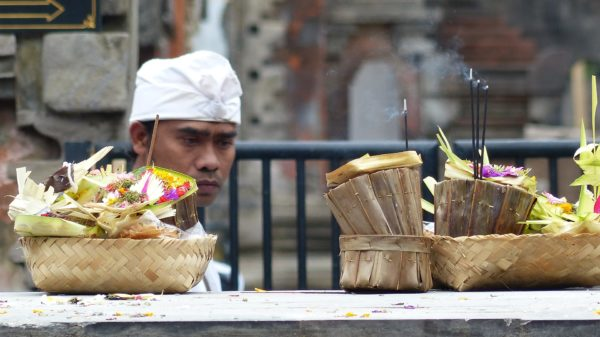 In Bali food is for celebration and offerings.