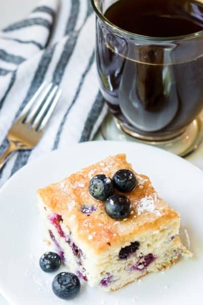 this flaky blueberry cake celebrates one of Maine's best things.