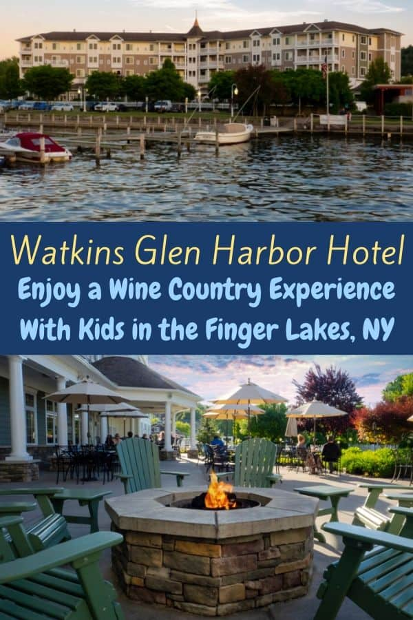 The Watkins Glen Harbor Hotel is a kid-friendly upscale hotel and a jumping off point for hiking, local dining and exploring local wineries. Read the full review. #harborhotel #watkinsglen #fingerlakes #newyork #hotel #kid-friendly #NYwineregion #hotel #review