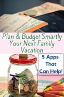 5 apps to help you plan and track your vacation budget, manage your spending and share expenses with fellow travelers. #money #spending #saving #budget #vacation #apps #help