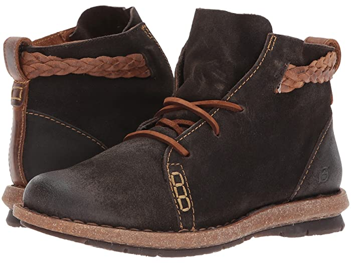 These born temple boots come in distressed leather and unusual colors for a rugged-chic look.